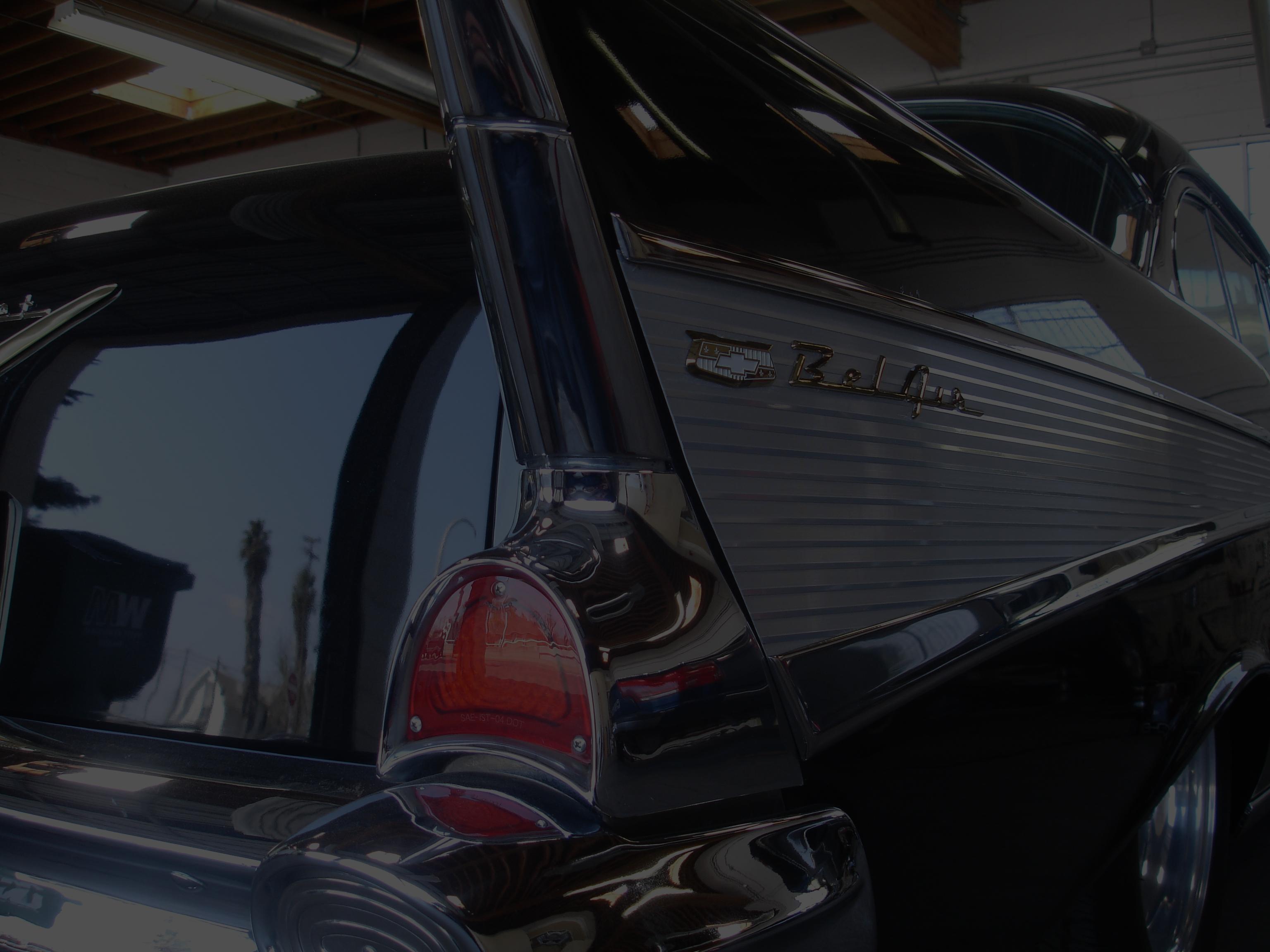 Classic Car at Hewitt Alinement in Stockton, California